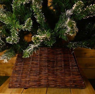 karácsonyfatalp tesco eltakaró