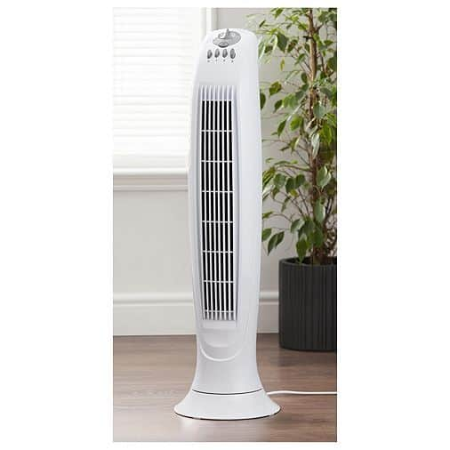 Torony ventilátor tesco - oszlop ventilátor