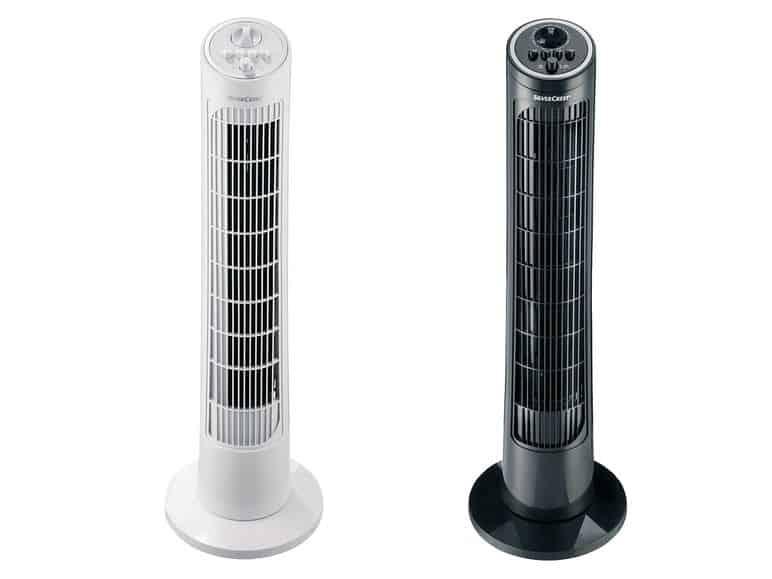 Silvercrest torony ventilátor