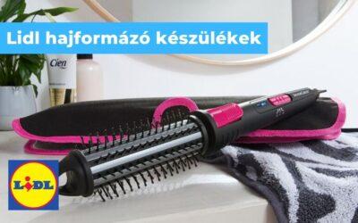 Gőzölős hajvasaló lidl – hajformázó készülékek a Lidl-től