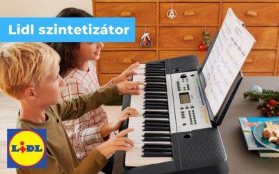 Yamaha szintetizátor Lidl mindenkinek