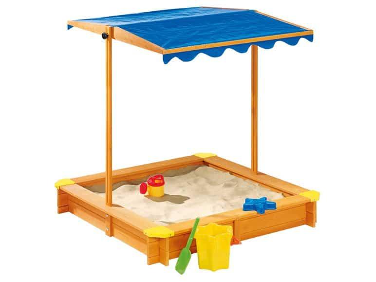 homokozó tetővel Lidl