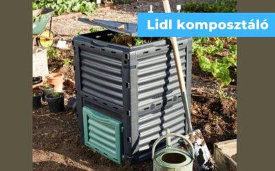 Komposztáló láda a Lidl kínálatában