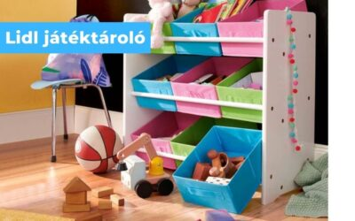 Lidl játéktároló – Livarno Living