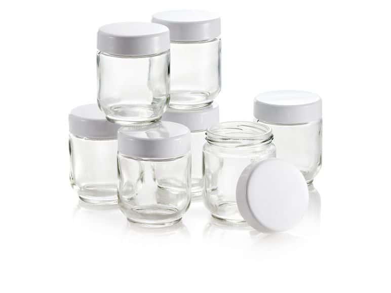 joghurt készítő üvegedények