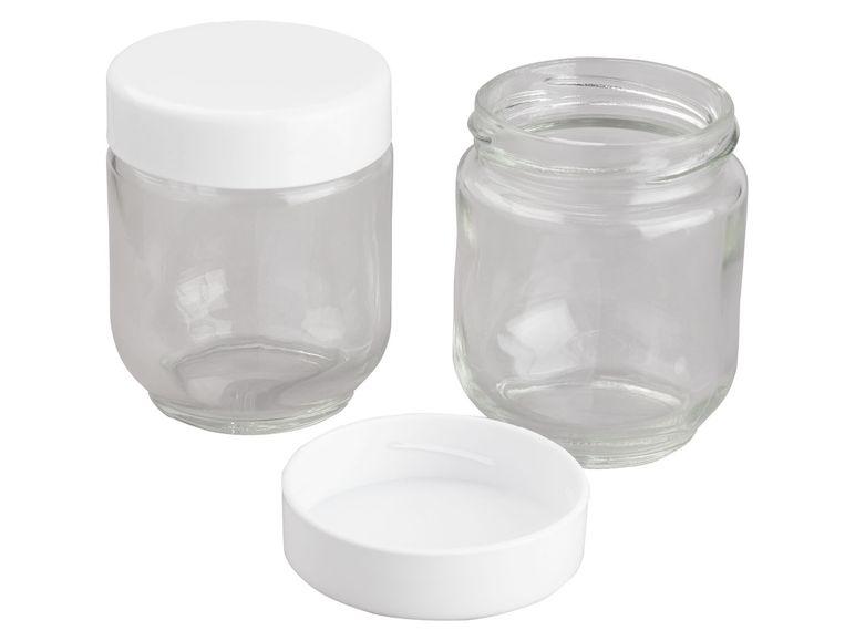 joghurtos üvegek