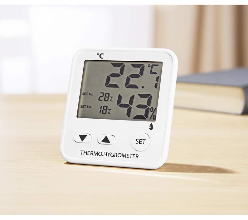Időjárásállomás Hőmérővel + légnedvességmérővel